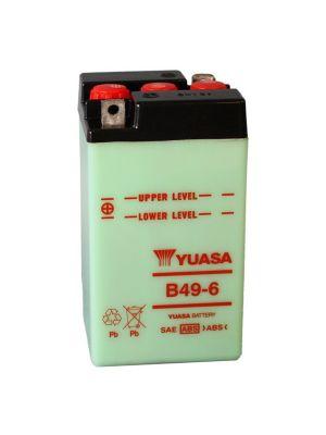 BATTERIA YUASA B49-6 6V 8 Ah