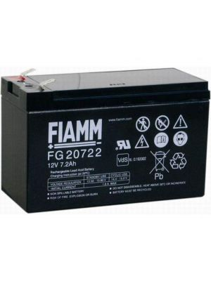 BATTERIA FIAMM FG20722 12V 7,2Ah