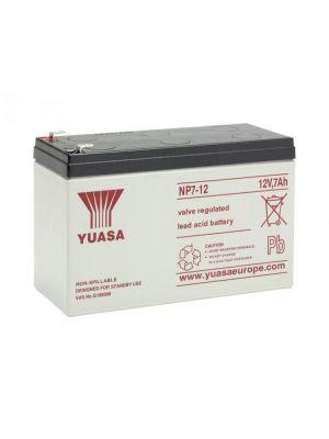 BATTERIA YUASA NP7-12 12V 7Ah