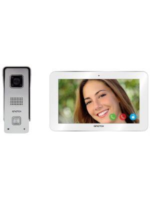 Kit videocitofono IP Wi-Fi HD + Monitor Tablet