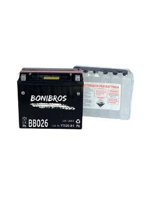 Batteria BONIBROS BB026 12V 20Ah con acido a corredo