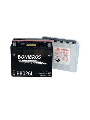 Batteria BONIBROS BB026L 12V 20Ah con acido a corredo