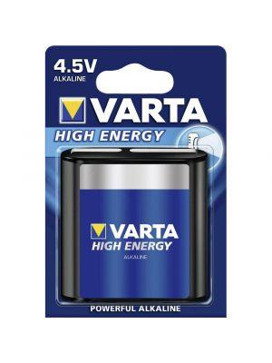 Blister 1 batteria 4,5V piatta VARTA high energy alcalina 3LR12
