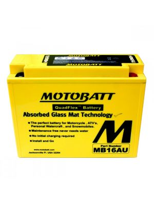 BATTERIA MOTOBATT AGM MB16AU 12V 20Ah BQ004