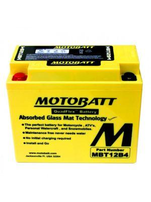 BATTERIA MOTOBATT AGM MBT12B4 12V 11Ah BQ016