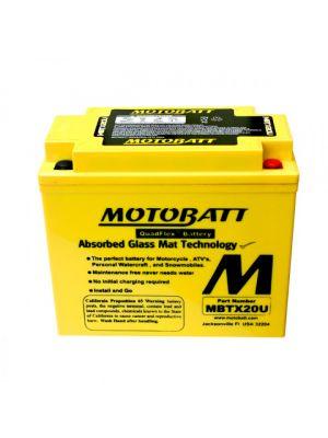 BATTERIA MOTOBATT AGM MBTX20U 12V 21Ah BQ026