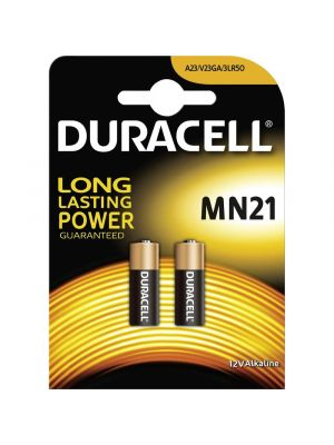 BATTERIA speciale alcalina MN21 DURACELL 12V 2pz