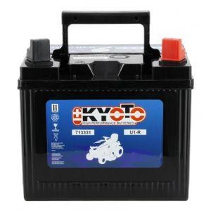 Batteria per trattore tagliaerba U1R 12V 23Ah Positivo Destra